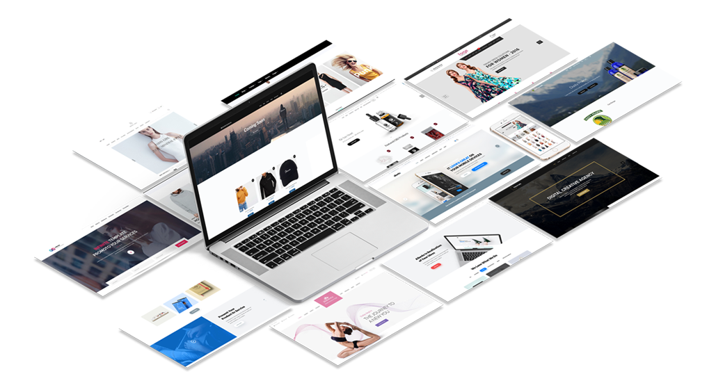 website templates for diy website package